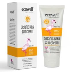 Ecowell Organik Bebek Güneş Kremi 50 Spf