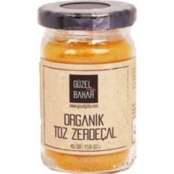 Güzel Gıda Organik Toz Zerdeçal 45gr