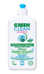 Green Clean Sensitive Bitkisel Bulaşık Deterjanı 500ml